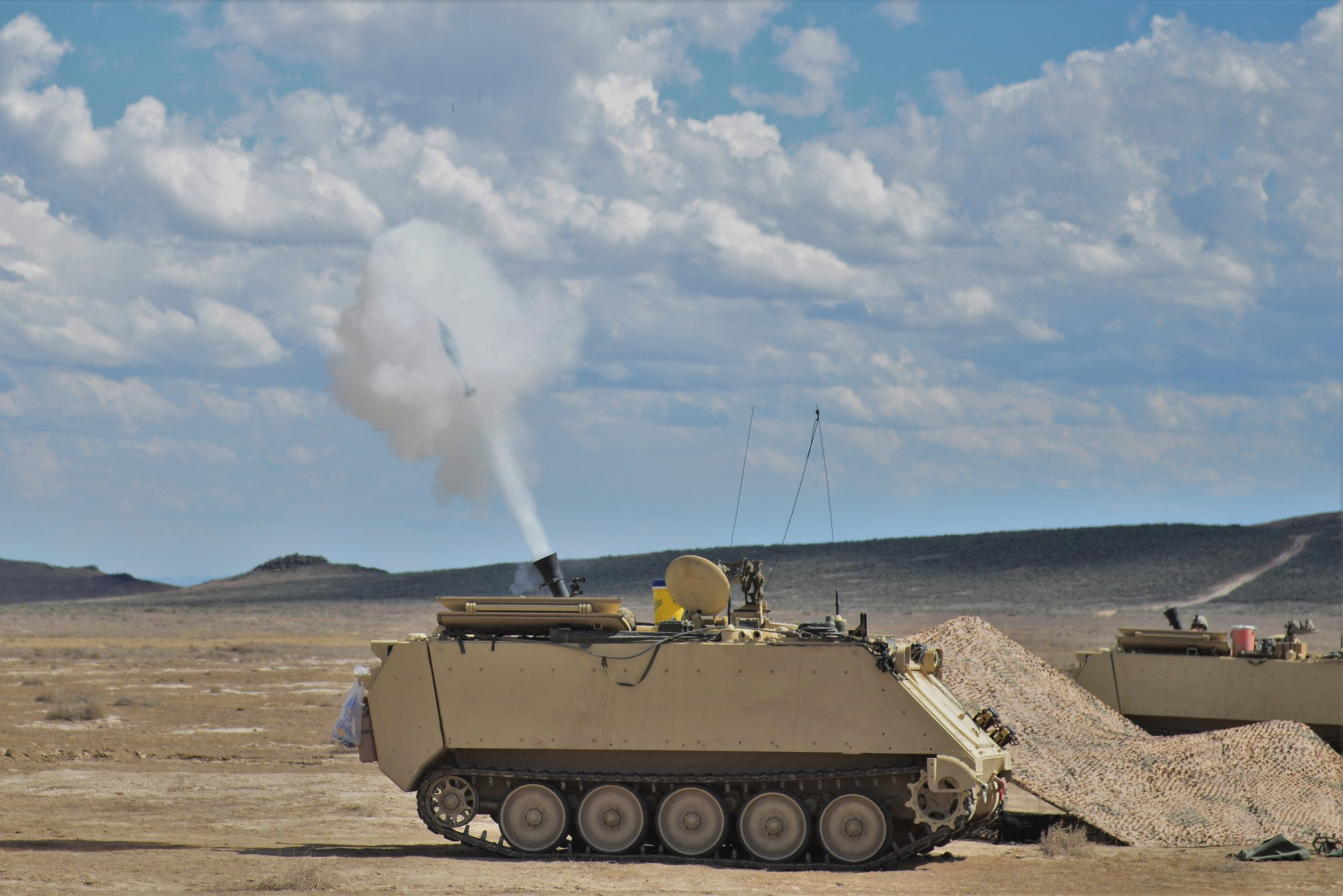 Nevada cavalry on target during ongoing Idaho live-fire training