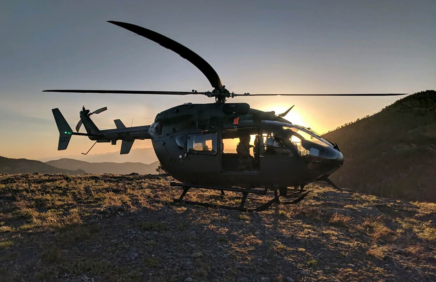 Lakota helicopters familiar face of Army aviation in southern Nevada